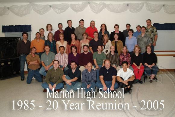 High School Reunion Photography
